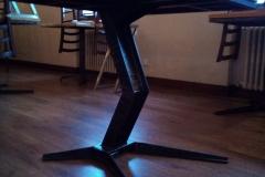 Base tavolo in metallo di design per tavolino ristorazione
